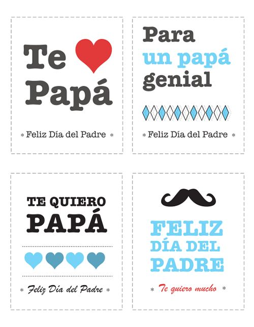 free printable father's day photo cards