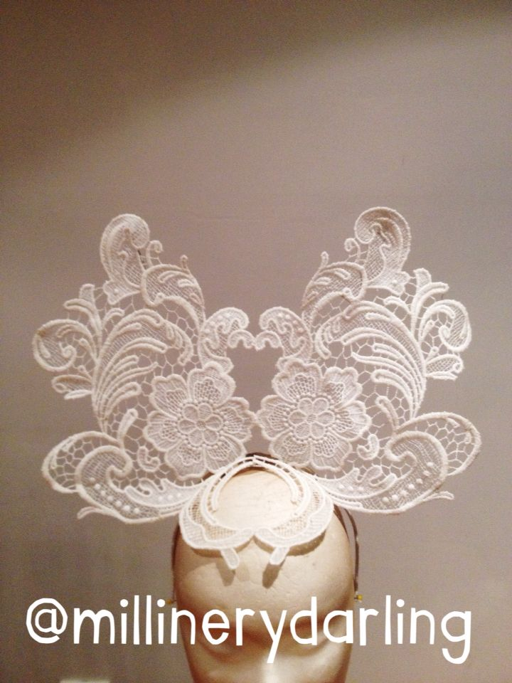 For Sale. Off White Lace Crown.