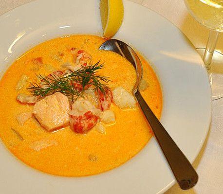 Fisk- och skaldjurssoppa recept - CrockPot.se