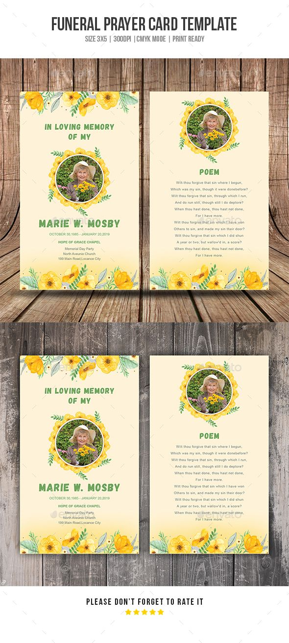 60 best Leaflet images on Pinterest Tri fold brochure template - memorial card template
