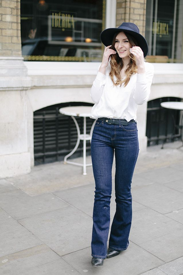 25  best ideas about Jean flare femme on Pinterest | Enveloppe de ...