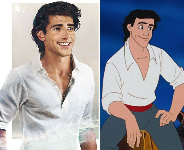 Disney Princes in Real-Life - Yup Philip is still my guy. But Eric's adorbs. -tt