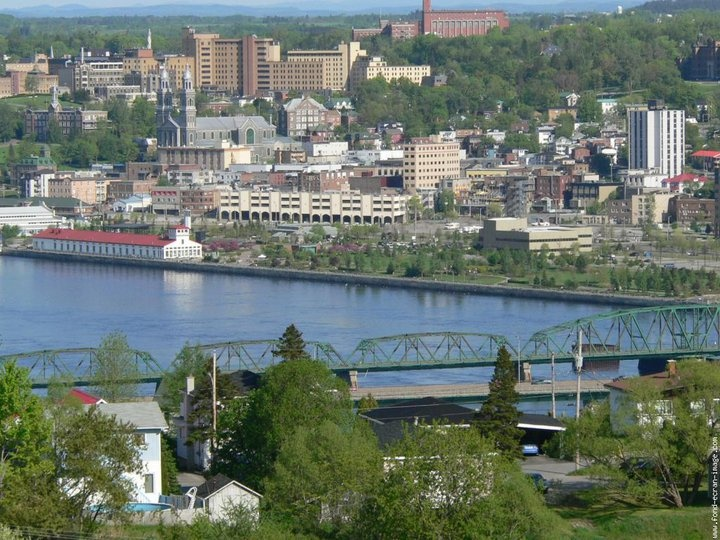 Chicoutimi, Quebec - I lived here for my study abroad in college! I love this town!