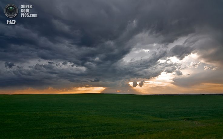 «Конец бури в Небраске». (Matt Granz)