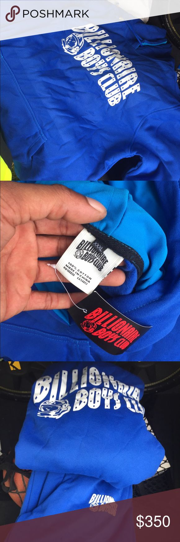 Billionaires Boys Club sweatsuit! New size:XXL New with tags, never worn, ordered too darn big. Will work with you on price Billionaire Boys Club Shirts Sweatshirts & Hoodies