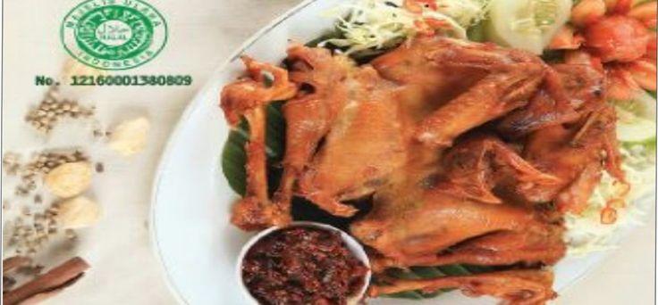 Nikmati gurih nya Ayam goreng Bu tini Ayam kampung