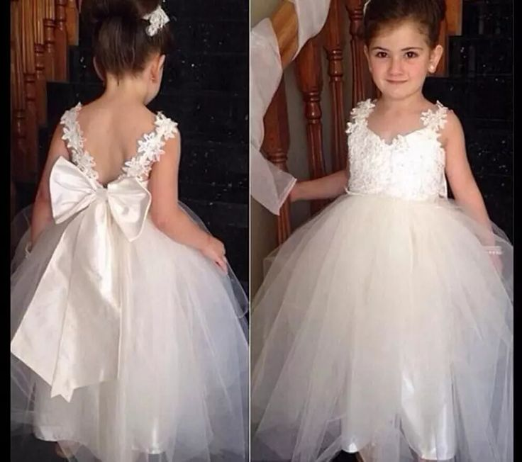 Flower Girl Princess Dress Kid Party Pageant Wedding Bridesmaid Tutu Dresses Girl Dress Long Vintage Lace Dance Party Dress Birthday Dog Flower Girl Dress Dresses Flower Girl From Fashionwest, $22.52| Dhgate.Com