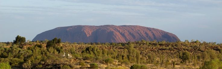We had to get much closer to see Uluru.