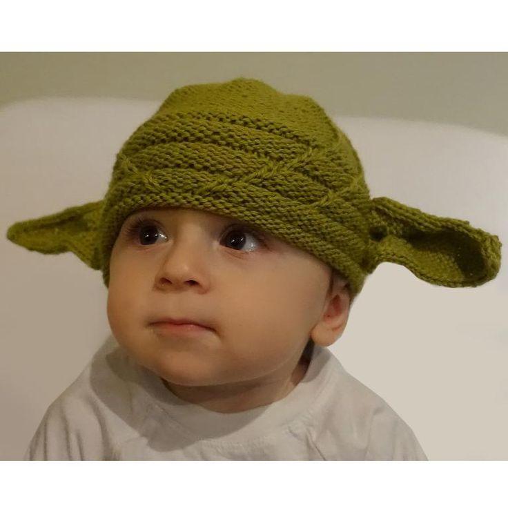 (6) Name: 'Knitting : Yoda Hat   Knitting patterns, Quick ...