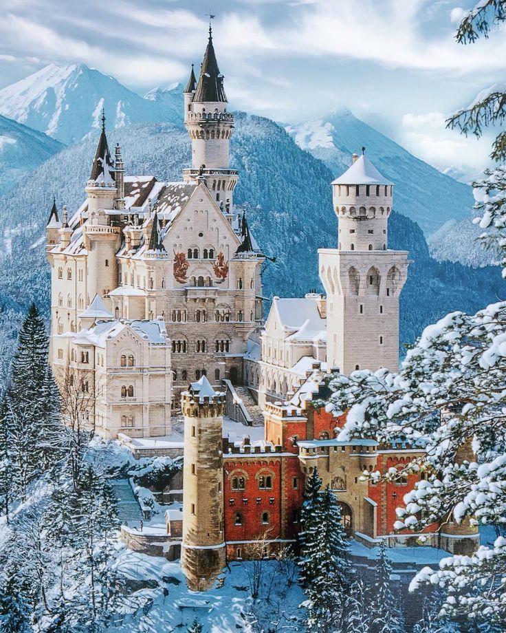Neuschwanstein Castle Germany Neuschwanstein Castle Germany Castles Castle