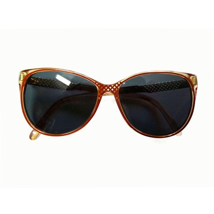 Brillen Christian Dior Vintage 80er Jahre Sonnenbrille Frau Neue