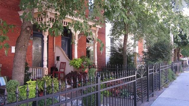 La rue St Andrew est magnifique.