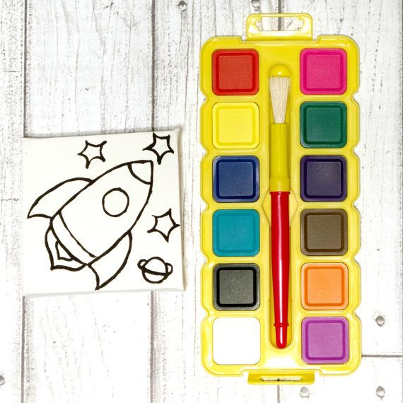 Most popular at kaetoo this week is the space rocket paint kit. A great activity to keep kids busy and crafty.