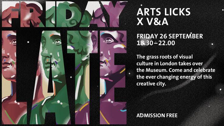 Friday Late: Art Licks x V&A
