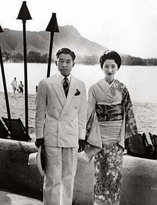 Crown Prince Akihito and Crown Princess Michiko of Japan