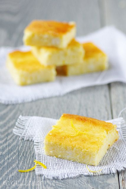 Fiadone - Cake with Brocciu (Local cheese) and Lemon