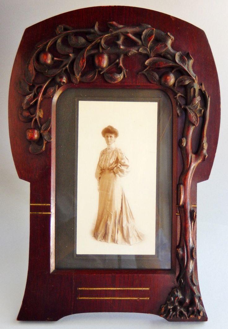 73 Best Art Nouveau Mirrors Amp Frames Images On Pinterest