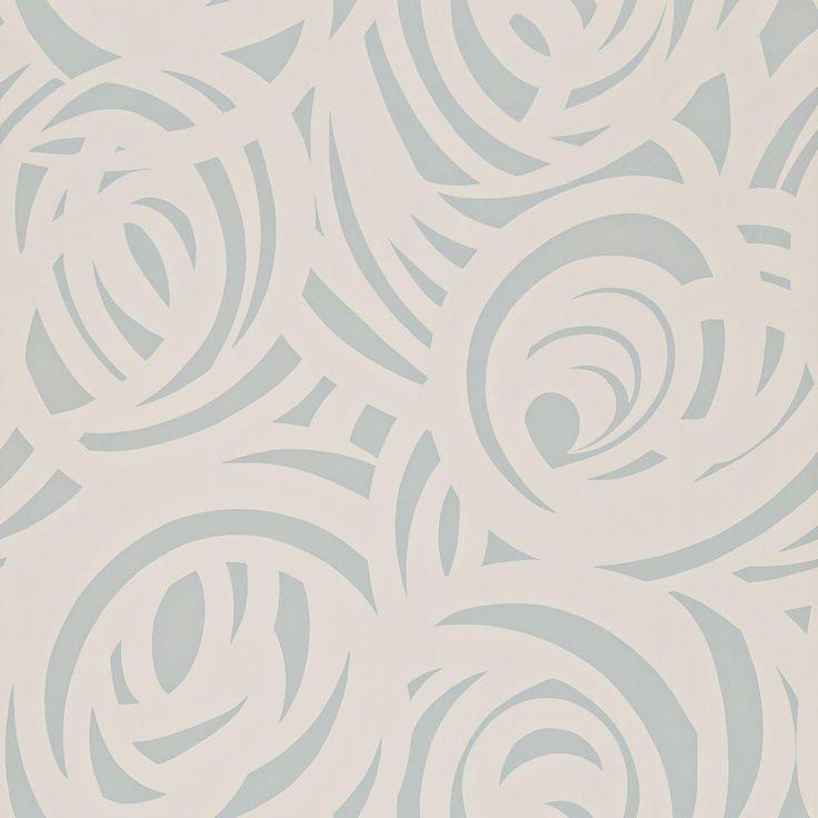 Vortex Wallpaper - Silver/Concrete (110077) - Harlequin Momentum Wallpapers Collection