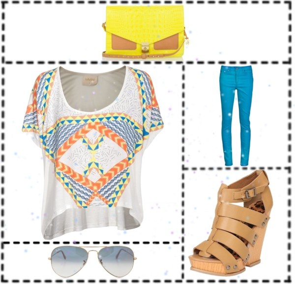 Tribal Fun, created by kailan-white on Polyvore