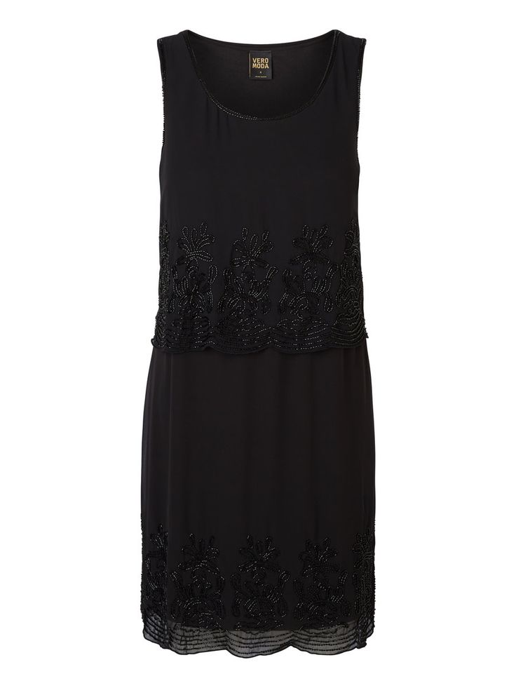 Black sequined party dress from VERO MODA. Love