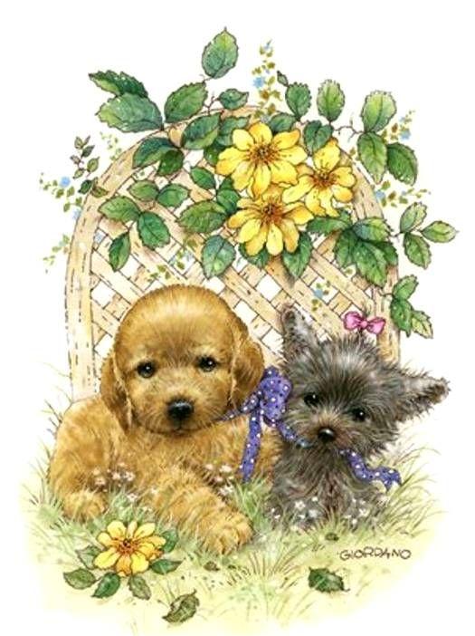 POST ANY TAGS HERE - Page 6 E27599d04521a1fb5d727b17d4180f7d--cute-illustration-dog-cat