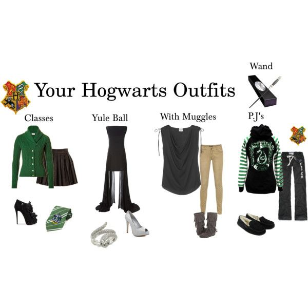 My Hogwarts Outfits II, created by sarabi-kenshiu on Polyvore