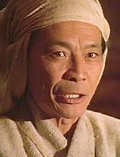 Mako Iwamatsu as the Sorcerer Nakano in the Movie Highlander III