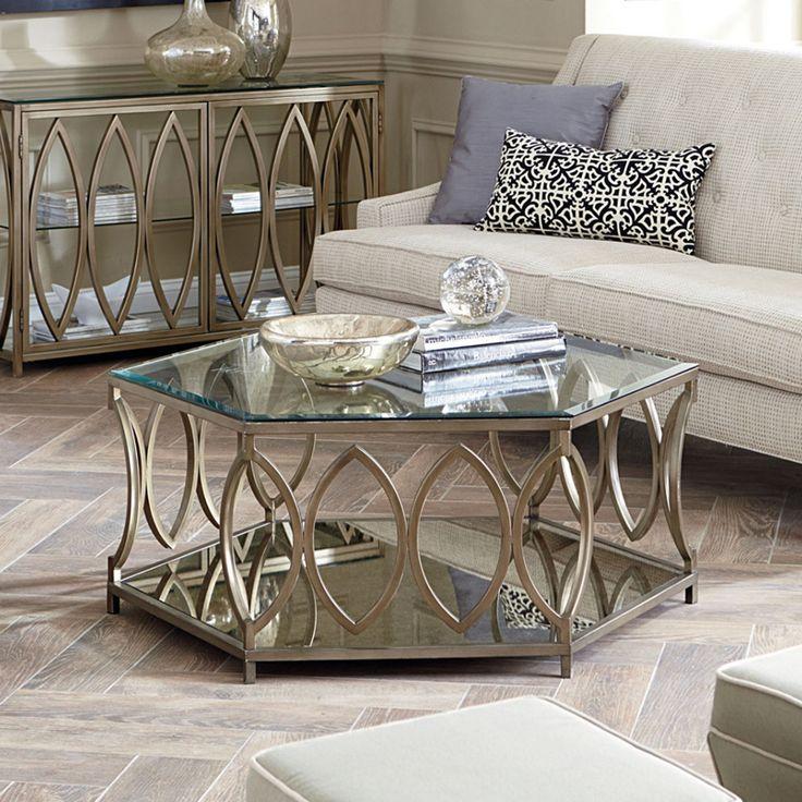 Hexagonal Coffee Table, Honeycomb Table U0026 Mirror Coffee Table Ideas