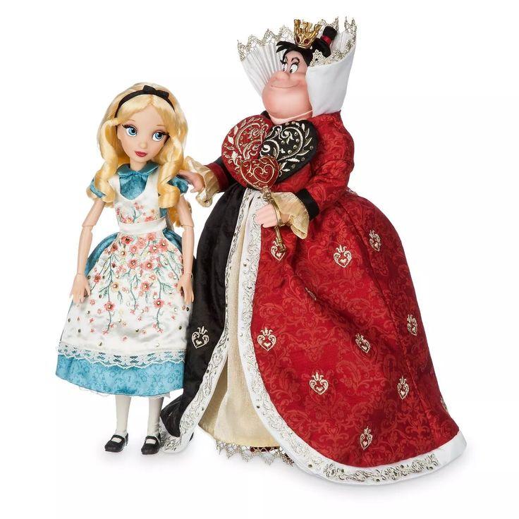 (2) Alice Rainha De Copas Disney Fairytale Designer Collection - R$ 1.450,00 em Mercado Livre