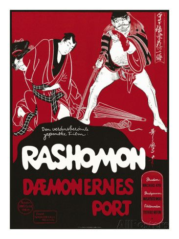Japanese Movie Poster - Rashomon in Norway Giclee Print at AllPosters.com
