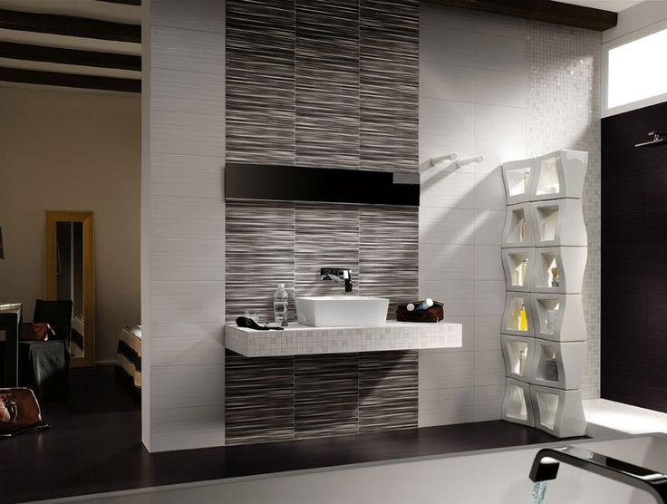 Bathroom Tiles Feature Wall 277 best bathrooms images on pinterest | bathroom ideas, bathrooms