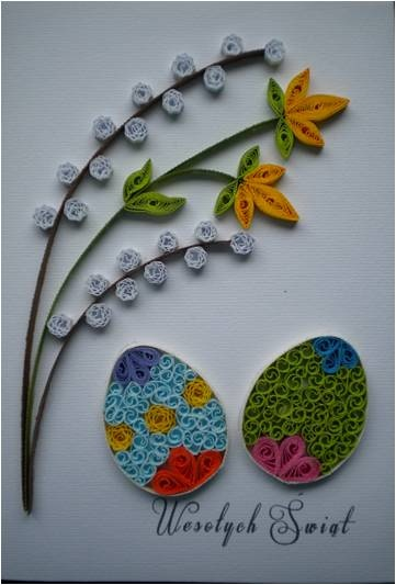 Easter quilling #quilled