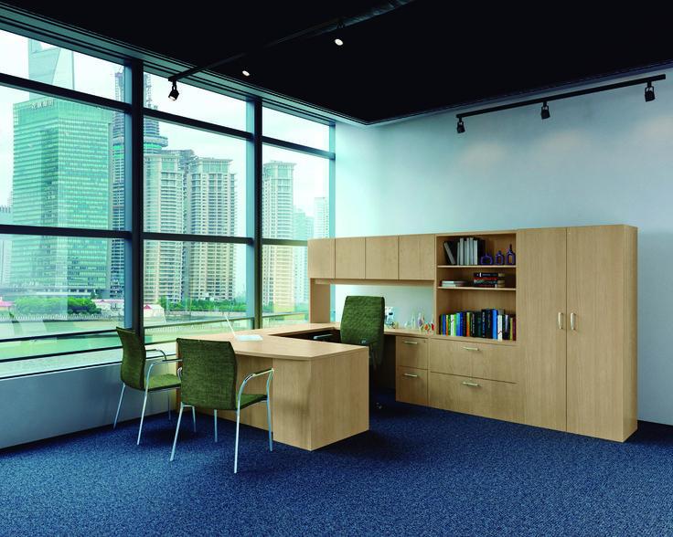 Muebles de oficina con la más alta calidad #PMSteele #Haiku