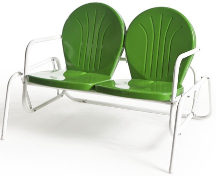 Charming Buy Retro Metal Lawn Furniture Here   Bellaire Double Glider   For The  Patio,yard