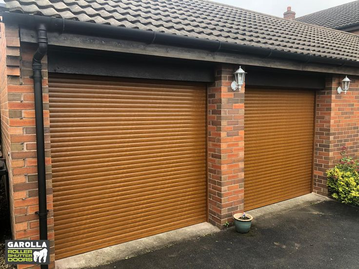 Roller Shutter Garage Doors (With images) Garage door