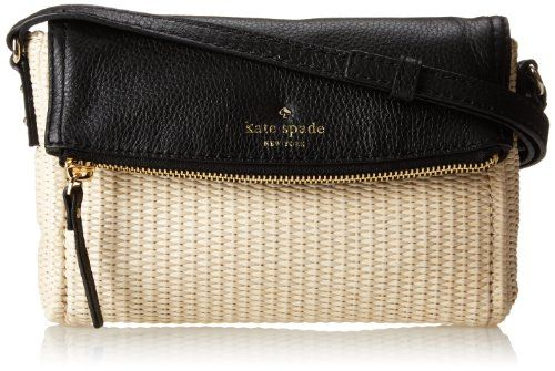 kate spade new york Cobble Hill Straw Mini Carson Cross Body Bag