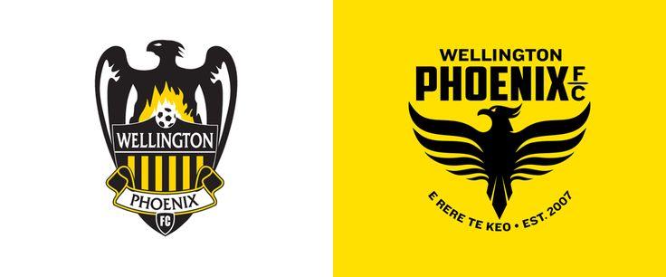 Brand New: New Logo for Wellington Phoenix FC