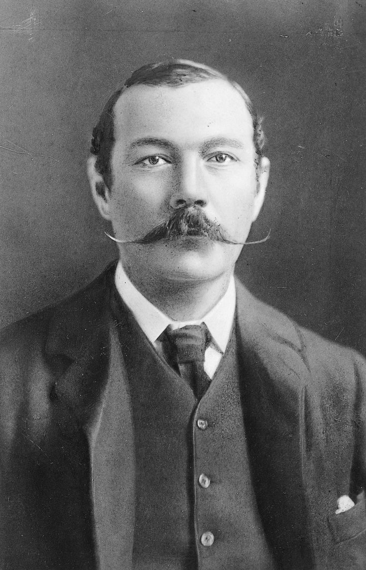 Sir Arthur Conan Doyle, British novelist, helped clear a lawyer accused of cattle mutilation in 1907, after realizing his nearsightedness meant he was innocent.