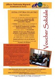 VOUCHER SOLIDALE   Migranti Torino
