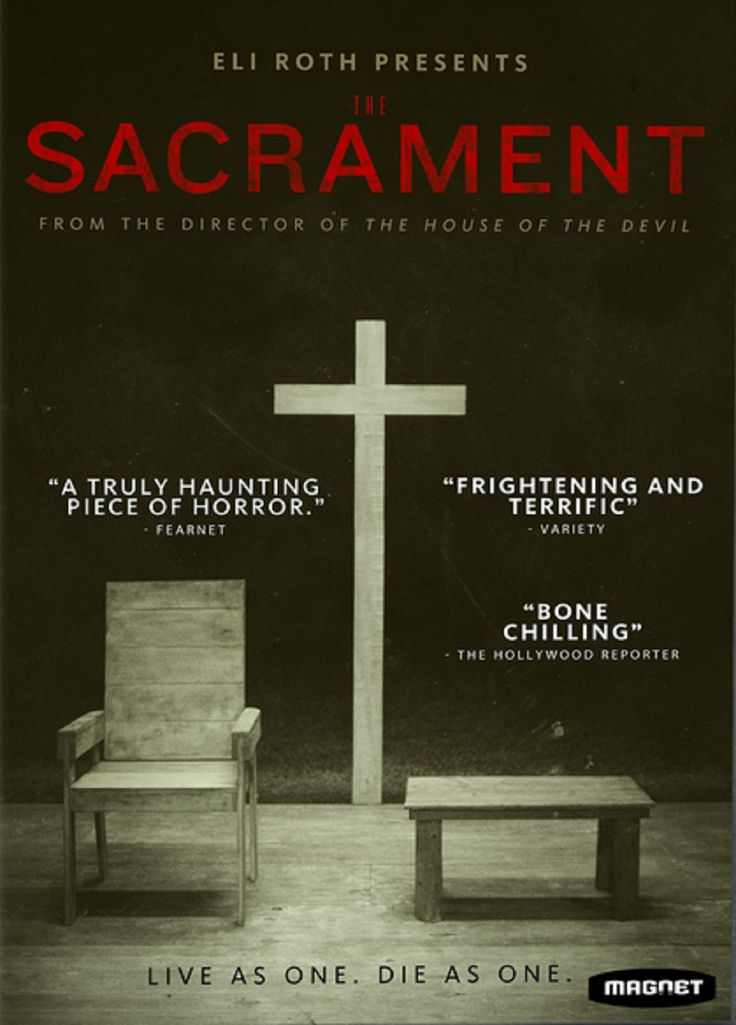 The Sacrament (2013) ... A news team trails a man as he travels into the world of Eden Parish to find his missing sister, where it becomes apparent that this paradise may not be as it seems. (02-Aug-2015)