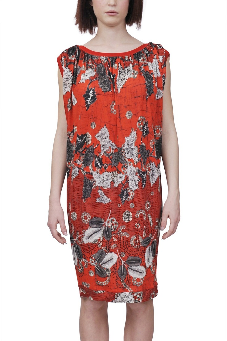 Jean Paul Gaultier soleil-jersey dress