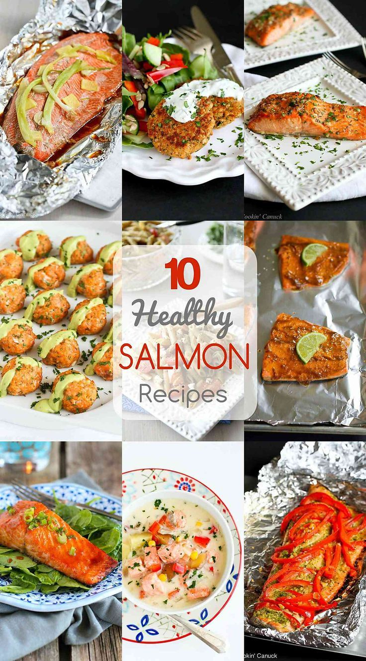 287 best seafood images on pinterest seafood recipes seafood 10 healthy salmon recipes quick and easy dinner ideas ccuart Image collections