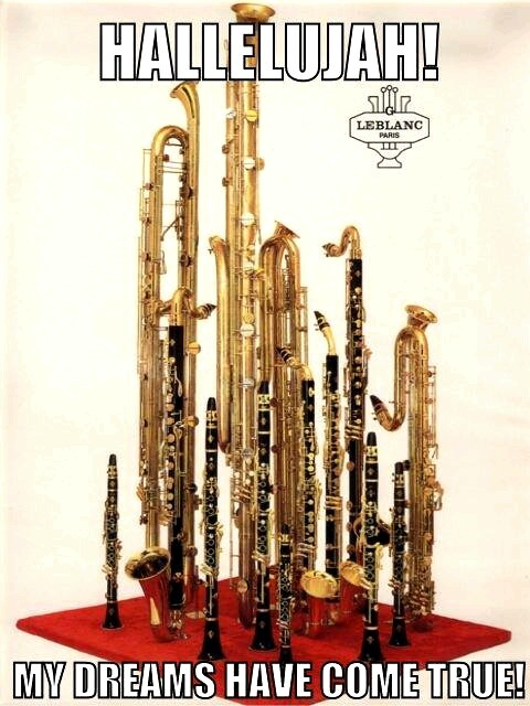 Buy all the clarinets!