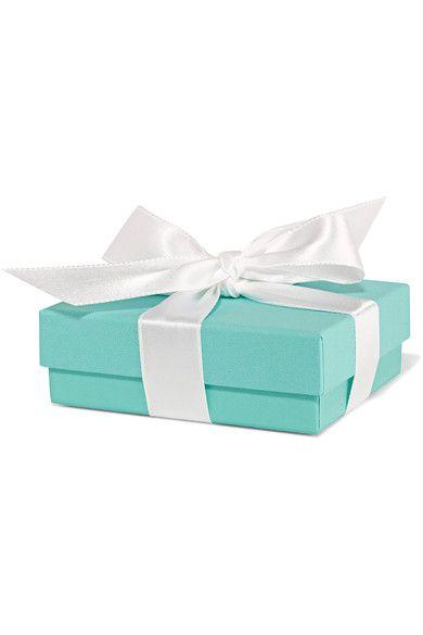 "Tiffany & Co. - T Smile 16"" 18-karat Gold Diamond Necklace - one size"