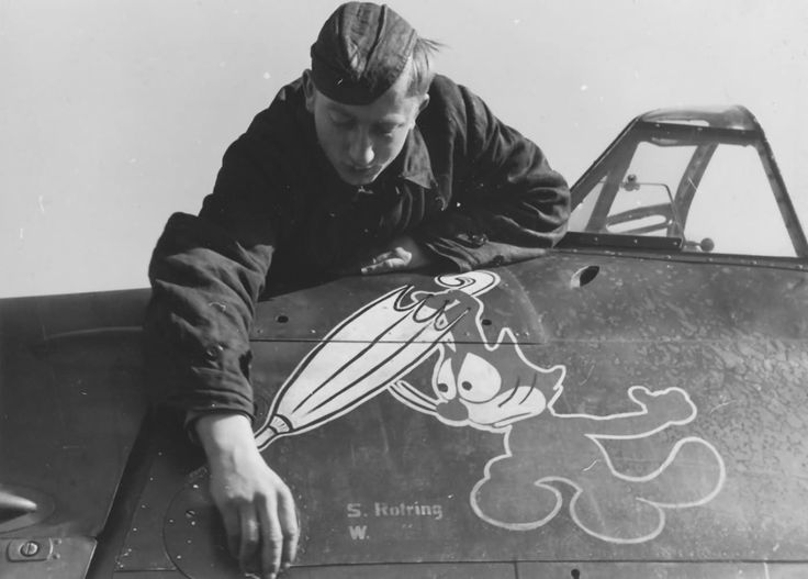 Image result for felix the cat wwii planes