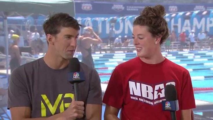 Race for Gold: Michael Phelps and Allison Schmitt Interview