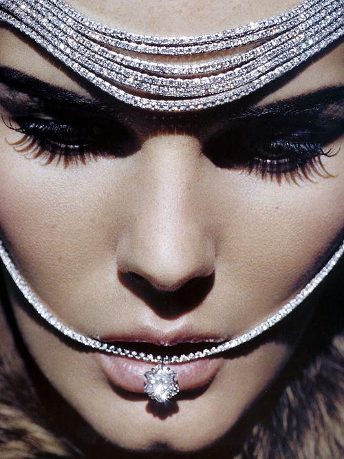 "abigaildonaldson:  Marcelle Bittar in ""A Unique Star"" by Ralph Wenig for Vogue España December 2007"