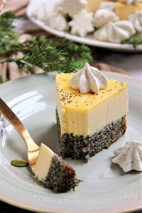 Mákos-citromhabos torta | Ízből tíz