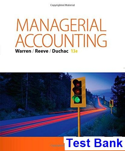 50 best test bank download images on pinterest managerial accounting 13th edition warren test bank fandeluxe Choice Image