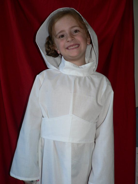Star Wars Princess Leia Costume, Child Sized, Custom Made